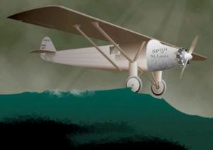 Charles Lindbergh, anti-héros uchronique :