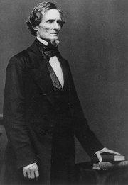 Jefferson Davis, président confédéré